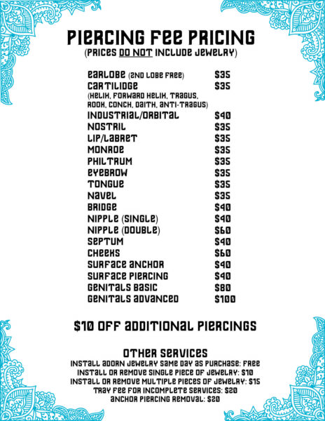 graphic-piercing-price-list